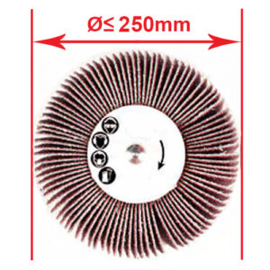 flap-wheel-diametre-250mm-abrasivessafety