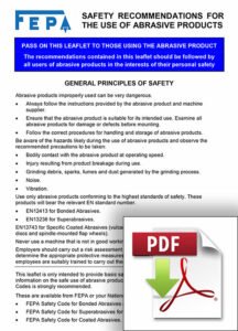 safety-recommendations-use-of-abrasives-products-fepa-abrasivessafety